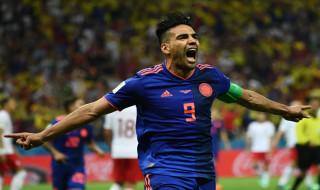 Radamel Falcao, Harry Kane, Piala Dunia 2018, Kolombia vs Inggris, Timnas Kolombia, Timnas Inggris, Babak 16 Besar