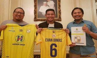 Evan Dimas, Evan Dimas Darmono, Barito Putera, Jacksen F Tiago