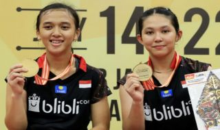 Kejuaraan Asia Junior 2018, Febriana Dwipuji Kusuma/Ribka Sugiarto