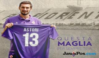 Fiorentina, Davide astori, Astori meninggal dunia, nomor punggung astori dipensiunkan