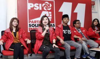 Grace Natalie, Partai Solidaritas Indonesia, psi