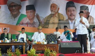 Gubernur Wahidin ajak Warga NU Banten Dukung Ma'ruf Amin