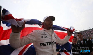 Lewis Hamilton, Mercedes, Formula 1 GP Meksiko,