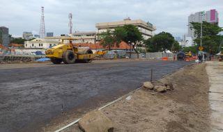 Jalan Raya Gubeng Dibuka Ambles Sinkhole Surabaya