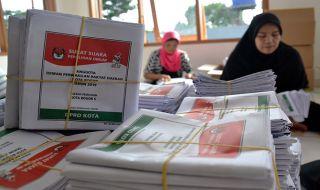 Hari Ini Mulai Kampanye Akbar, Persiapan Pencoblosan Hampir Rampung