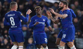 Liga europa 2018-2019, Chelsea, PAOK, Chelsea 4-0 PAOK