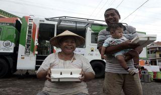Humanity Food Truck 2.0 Mampir ke Kampung Nelayan Tanjung Mas