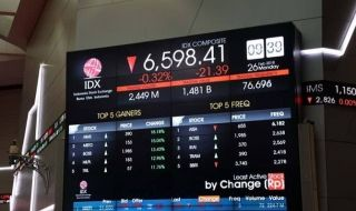 IHSG Dibuka Suram, Turun Ke 6.468, 8 Saham Berpeluang Cerah