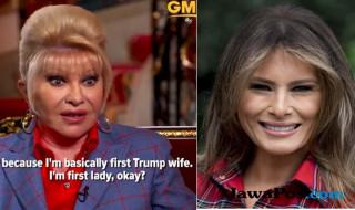 Ivana dan Melania Trump.