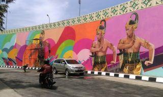 Mural Overpass Manahan