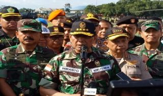 Jelang Pemilu Serentak 2019, Ini Amanat Wiranto Buat TNI-Polri