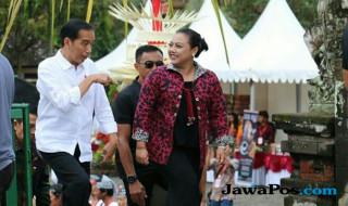 Jokowi dan Bupati Tabanan