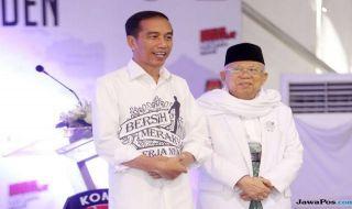 Jokowi Kalah Banyak di Madura, Ma'ruf Amin Turun Tangan