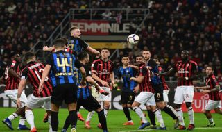 Kalah dari Inter Milan, Para Pemain Milan Nyaris Baku Hantam