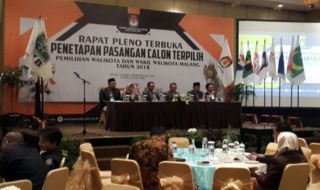 Penetapan Wali Kota Malang