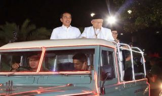 Kampanye di Banten, Jokowi Puji Ma'ruf Amin Ngerti Unicorn
