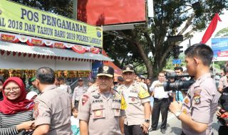 Cek Pengamanan Nataru, Kapolda Sumut Fokus ke Wilayah Perbatasan