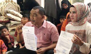 Kasus Dugaan Perzinaan Dihentikan, Angel Lelga Gelar Syukuran