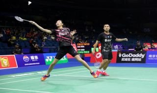 Indonesia Masters 2019, Hafiz Faizal/Gloria Emanuelle Widjaja, Indonesia, bulu tangkis