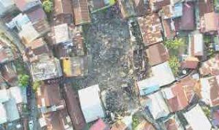Kebakaran di Kawasan Gang Buntu Hanguskan 15 Rumah Warga