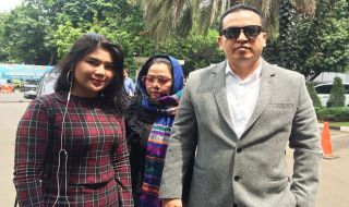 Keponakan Dewi Perssik Bantah Jadi Tersangka