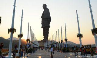 patung tertinggi di dunia, india, patung,