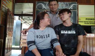 Tricia Beatric Nando, Cinta Beda Negara, Kisah Cinta Sia Nando