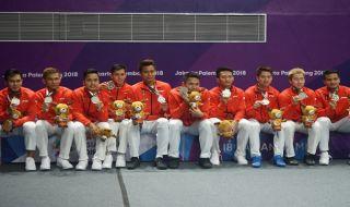 Asian Games 2018, Klasemen Sementara Medali, Klasemen Medali, Indonesia, Kontingen Indonesia