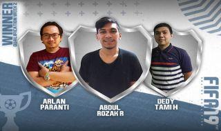 Kompetisi Sepak Bola Online Minggu Kedua Jaring Tiga Pemain Top Lagi