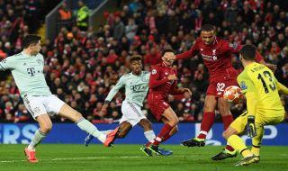 Liga champions 2018-2019, Babak 16 besar, Liverpool, Bayern Muenchen, Liverpool 0-0 Bayern Muenchen