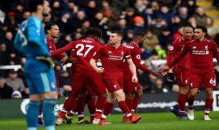 Premier league 2018-2019, Liga Inggris, Fulham, Liverpool, Fulham 1-2 Liverpool
