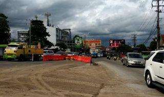 Macet Parah pada Hari Pertama Rekayasa Lalin Underpass Karanglo