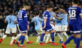 Liga champions 2018-2019, babak 16 besar, Schalke 04, Manchester city, Schalke 2-3 Manchester City