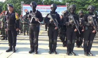 Masuk Zona Merah, TNI-Polri Kerahkan Kekuatan Penuh