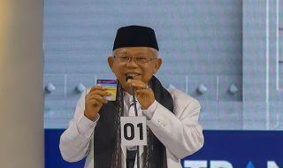 Media Asing Puji Penampilan Ma'ruf Amin Saat Debat Ketiga Pilpres