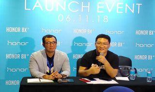 Honor 8X, James Yang Honor, Honor Xiaomi Bersamaan