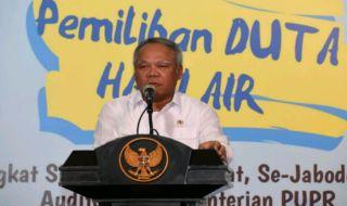 Menteri Basuki Ajak Milenials Jaga Lingkungan dan Sumber Air