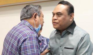 Menteri Syafruddin Doakan Kesembuhan Ani Yudhoyono