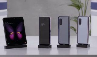 Samsung Galaxy Fold, Smartphone Lipat, Huawei Ejek Samsung