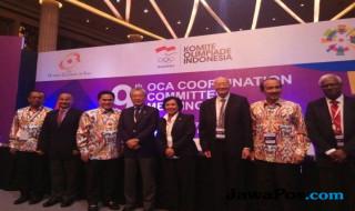 Asian Games 2018, OCA, INASGOC