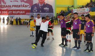 Open Futsal Tournament Kapolda Sumut Cup 2019 Pecahkan Rekor MURI