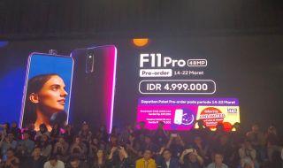 Oppo F11 Pro Resmi Rilis di Indonesia, Ini Spesifikasi dan Harganya