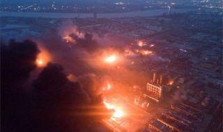 Pabrik Kimia Meledak, 47 Orang Tewas
