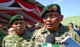 Panglima Kostrad Letjen TNI Agus Kriswanto