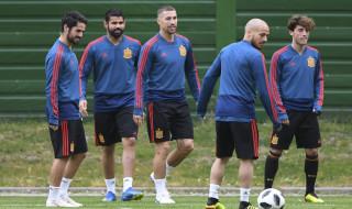 Timnas Spanyol, Timnas Maroko, Piala Dunia 2018