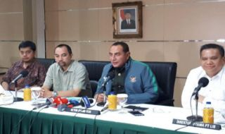 Edy Rahmayadi, PSSi, Liga 1 2018, Haringga Sirila, Jakmania Meninggal di GBLA,