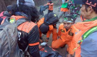 Korban Gempa di Lombok