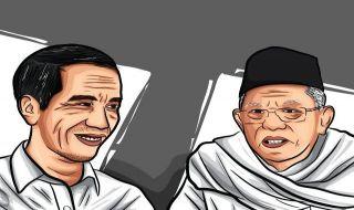 PDIP Klaim Jokowi-Ma'ruf Sudah Unggul Tipis di Jabar dan Banten