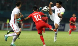 Asian Games 2018, Timnas Indonesia, Timnas U-23 Indonesia, Stefano Lilipaly, Hongkong