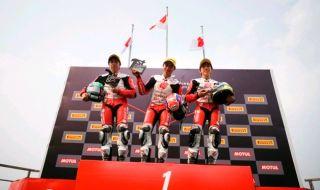 Pembalap Muda Indonesia Naik Podium di Sirkuit MotoGP Thailand